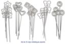 Clips pense-bête assortis- Set de 25 - Clips et mousquetons - 10doigts.fr