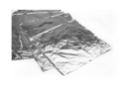 Feuilles à dorer finition Argent 14 x 7 cm - 25 feuilles - Dorure et patine 11261 - 10doigts.fr