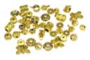 Perles charm's intercalaires dorés - 30 perles - Perles intercalaires 31063 - 10doigts.fr