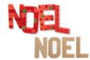 """""""NOEL"""" en carton papier mâché - 4 lettres - Lettres et Formes 10325 - 10doigts.fr"""