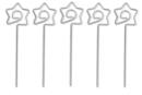 Clips pense-bête étoile- Lot de 5 - Clips et mousquetons 03979 - 10doigts.fr