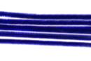 Chenilles bleu - Lot de 50 - Chenilles, cure-pipe 35132 - 10doigts.fr