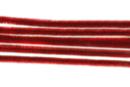 Chenilles rouge - Lot de 50 - Chenilles, cure-pipe - 10doigts.fr