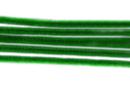 Chenilles vert foncé - Lot de 50 - Chenilles, cure-pipe - 10doigts.fr