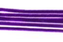 Chenilles violet - Lot de 50 - Chenilles, cure-pipe 35133 - 10doigts.fr
