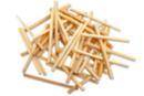 Allumettes naturelles - Lot de 500 - Bâtonnets, tiges, languettes - 10doigts.fr