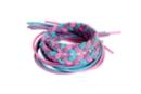 Fils élastiques épais 1 m - 6 fils (2x bleu, 2x lilas, 2x rose) - Élastiques 35120 - 10doigts.fr