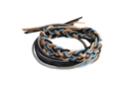 Fils élastiques épais 1 m - 6 fils (noir, gris, beige, cuivre, bleu clair, bleu foncé) - Élastiques 35124 - 10doigts.fr