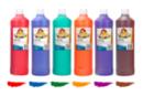 Gouache 1 Litre, couleurs secondaires - 6 couleurs - Peinture Gouache 10 DOIGTS 31116 - 10doigts.fr
