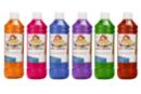 Encre à dessiner: 6 flacons de 500 ml - couleurs complémentaires - Encres liquides 35089 - 10doigts.fr