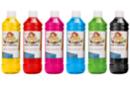 Encre à dessiner: 6 flacons de 500 ml - couleurs principales - Encres liquides 35088 - 10doigts.fr