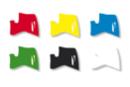 Marqueurs à laque - Set de 6 couleurs de base assorties - Marqueurs peintures 02986 - 10doigts.fr