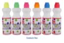 Marqueurs à encre, couleurs fluo - Set de 6 - Encres 11679 - 10doigts.fr