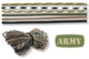 """Paracordes thème """"ARMY"""" - Set de 6 couleurs - Cordes Paracorde 16854 - 10doigts.fr"""