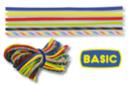 """Paracordes thème """"BASIC"""" - Set de 6 couleurs - Cordes Paracorde 16855 - 10doigts.fr"""