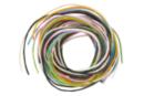 Cordons en coton ciré - Set de 8 couleurs x 1 m - Ø 1 mm - Fils en coton, échevettes 07739 - 10doigts.fr