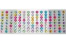 Strass adhésifs ronds 1 cm - 120 strass - Stickers strass, cabochons - 10doigts.fr