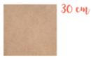 Support carré en médium MDF 30 x 30 cm - Supports plats 11326 - 10doigts.fr