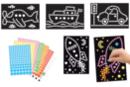 """Tableaux """"Transport""""- Set de 4 tableaux - Kits activités carteries 18702 - 10doigts.fr"""