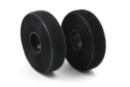 Bande de velcro adhésif noir - 2 cm x 2 m - Velcro , scratch 35014 - 10doigts.fr