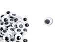 Yeux mobiles noirs Ø 10 mm - 100 yeux - Cartes et Stickers - 10doigts.fr