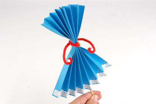 Marionnettes en papier