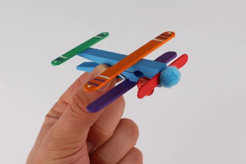 Avions en bâtonnets