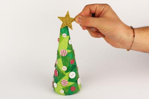 Sapin de Noël conique