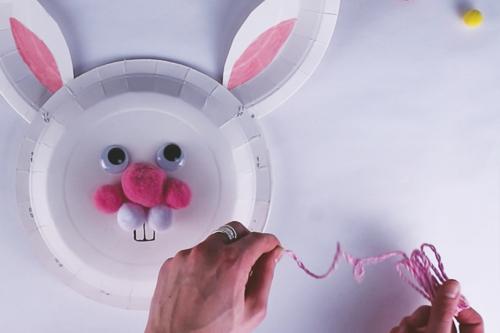 Panier lapin de Pâques