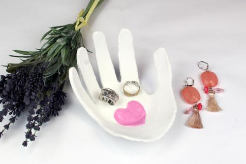 "Vide-poches ""Coeur sur la main"""