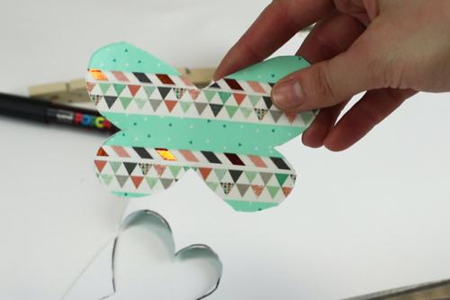 Magnet papillon avec une pince à linge