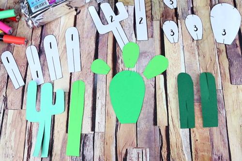 Cactus en papier