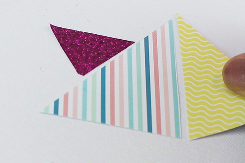 Tableau triangles