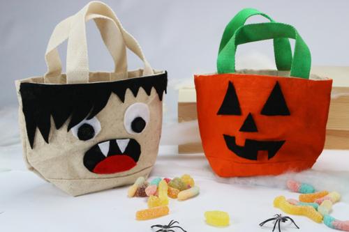 Sac à bonbons pour Halloween