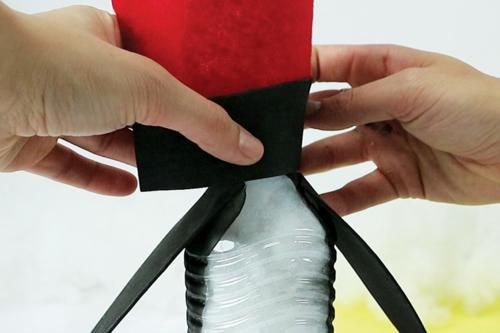 Fabriquer un pingouin avec une bouteille d'eau