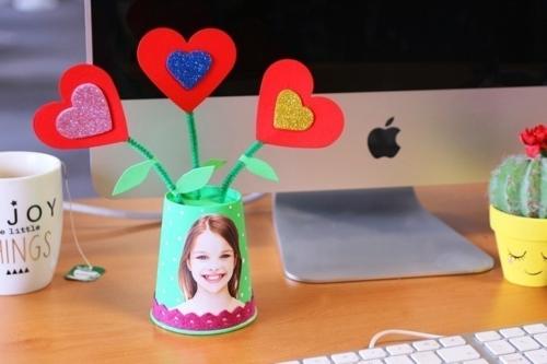 Pot de fleurs pour Maman